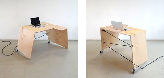 5degrees desk by Remmelt Dirksen